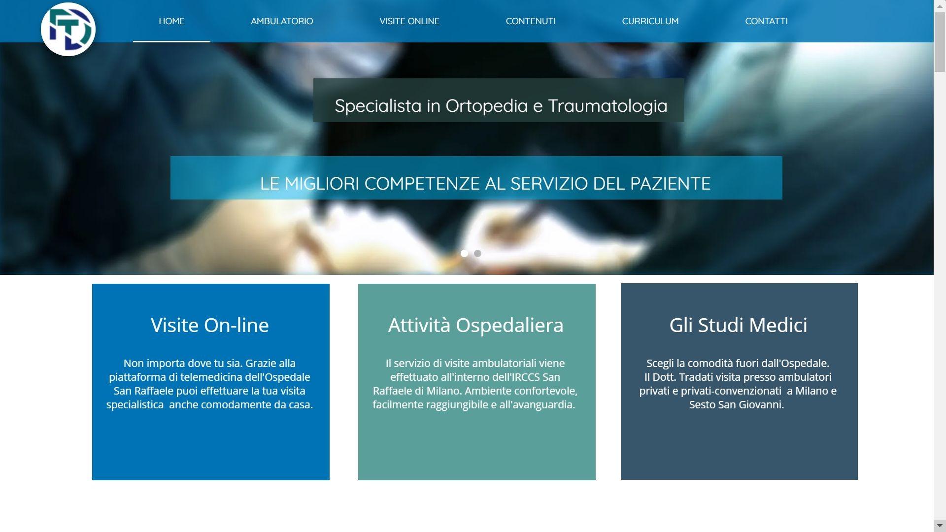 Il nuovo sito web è on-line