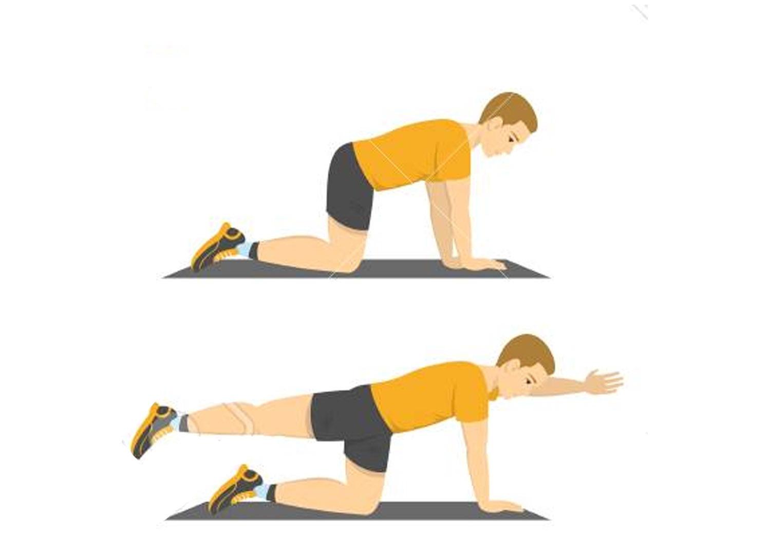 Come risolvere il mal di schiena - Esercizi per la..